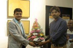 Dhiraj Hadole At Art Gate Gallery During chitradarshani Show