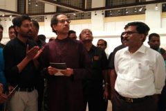 Honorable CM Uddhav Thackeray And Sanjay Raut Visited Our Art Exhibition At Jehangir Art Gallery