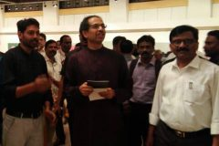 Honorable CM Uddhav Thackeray And Sanjay Raut Visited Our Art Exhibition At Jehangir Art Gallery  2