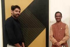 Dhiraj Hadole with Vishwanath Sable